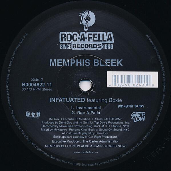 Memphis Bleek Infatuated (STILL SEALED)