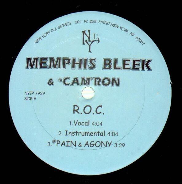 memphis bleek & *cam'ron r.o.c. / santana the great (RARE)
