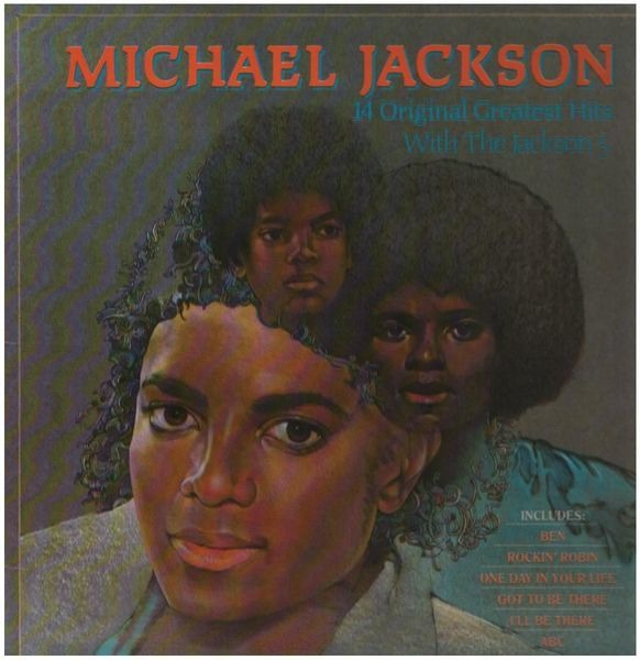Michael Jackson With The Jackson 5 14 Greatest Hits With The Jackson 5