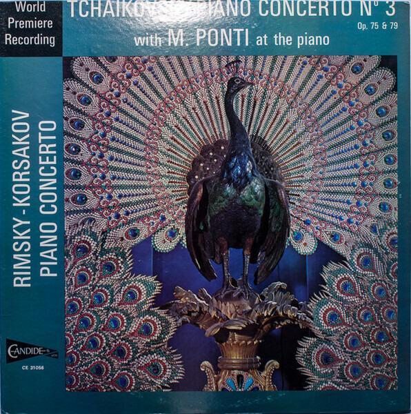#<Artist:0x00007f4df9708f20> - Piano Concerto No. 3 Op. 75 & 79 / Piano Concerto op. 30