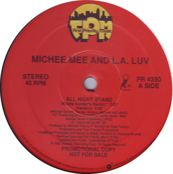 Michee Mee And L.A. Luv All Night Stand