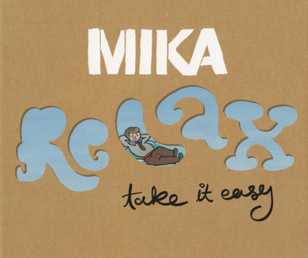 MIKA - Relax, Take It Easy - CD single