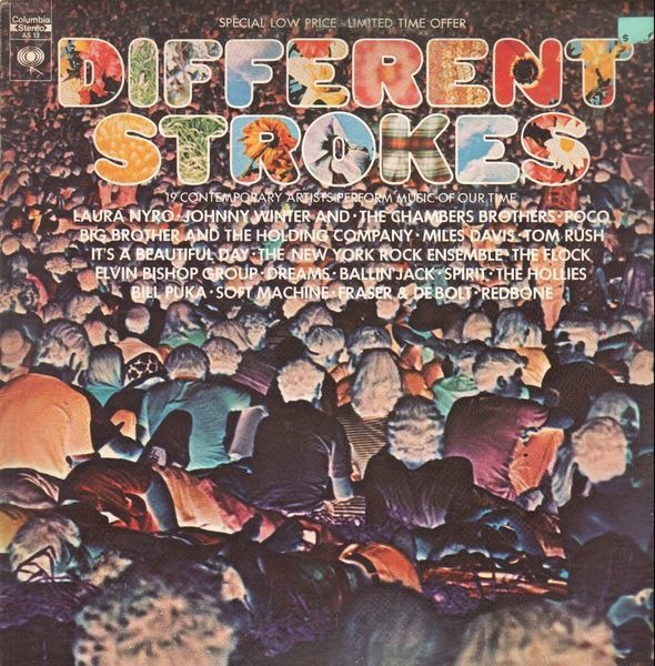 MILES DAVIS, SOFT MACHINE A.O. - Different Strokes - LP