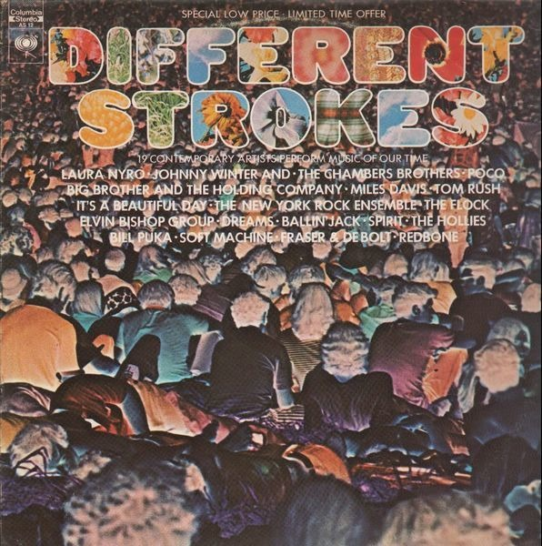 MILES DAVIS, SOFT MACHINE - Different Strokes - LP