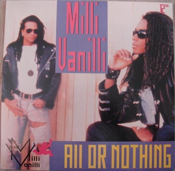 Milli Vanilli All Or Nothing (STILL SEALED)
