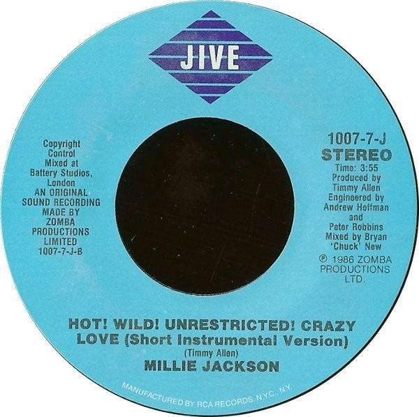 #<Artist:0x007f24c5380018> - Hot! Wild! Unrestricted! Crazy Love