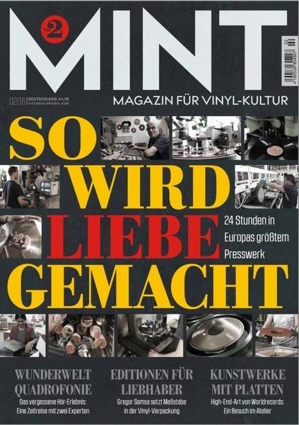 MINT _ MAGAZIN FÜR VINYL-KULTUR - Ausgabe 2 - 02/16 - Magazine