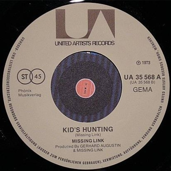 MISSING LINK - Friday On My Mind / Kid's Hunting - 45T x 1
