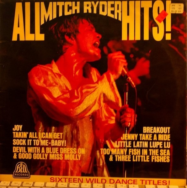 Mitch Ryder - All Mitch Ryder Hits! LP