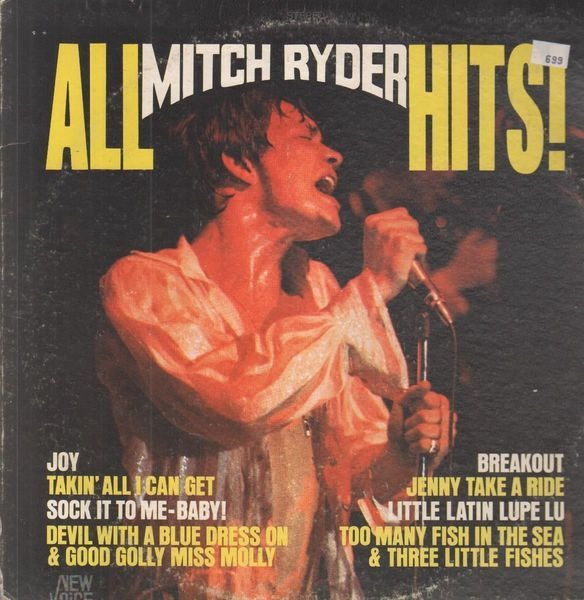 Mitch Ryder - All Mitch Ryder Hits! Album