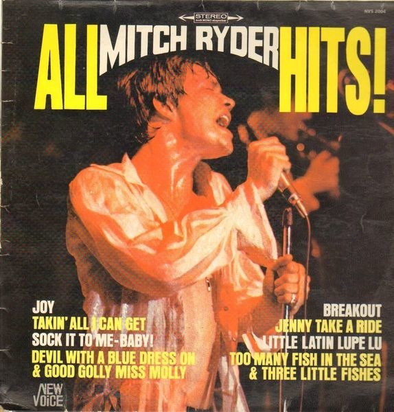 Mitch Ryder - All Mitch Ryder Hits!