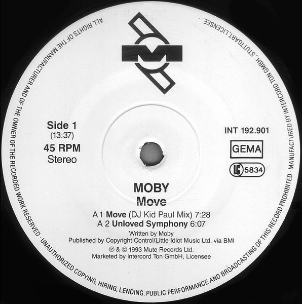 MOBY - Move - 12 inch x 1