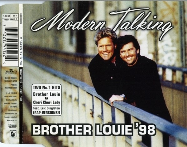 MODERN TALKING - Brother Louie '98 - CD single