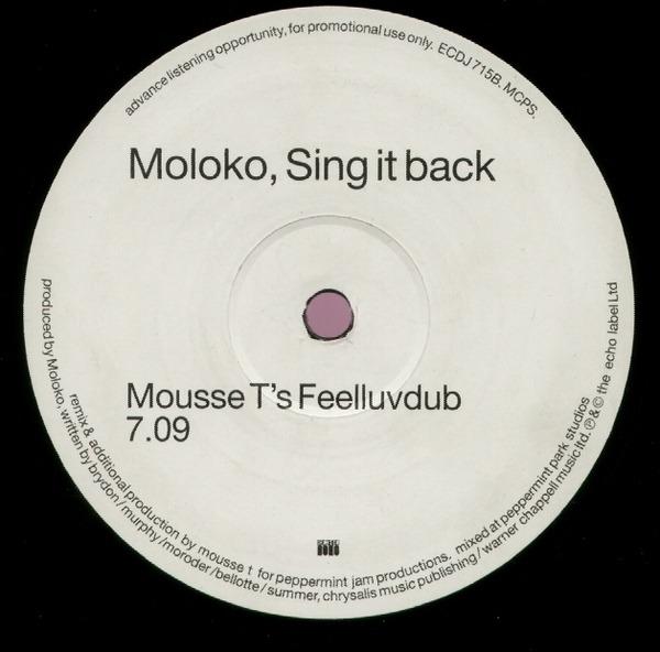 #<Artist:0x00007f38616b97c0> - Sing It Back