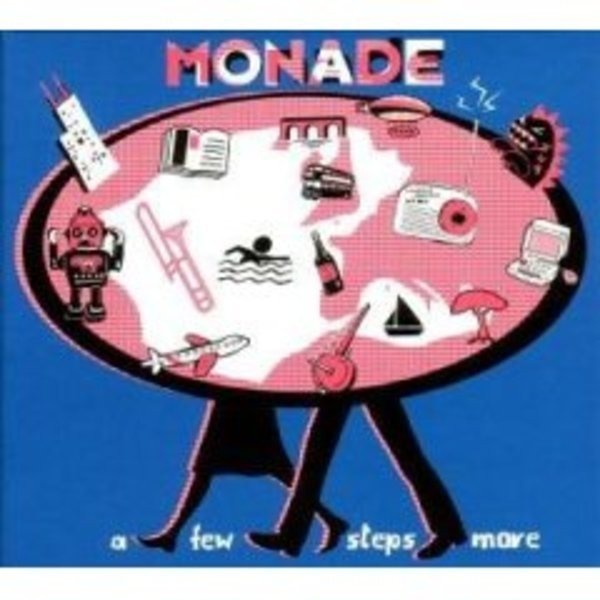 MONADE - A Few Steps More (DIGIPAK) - CD