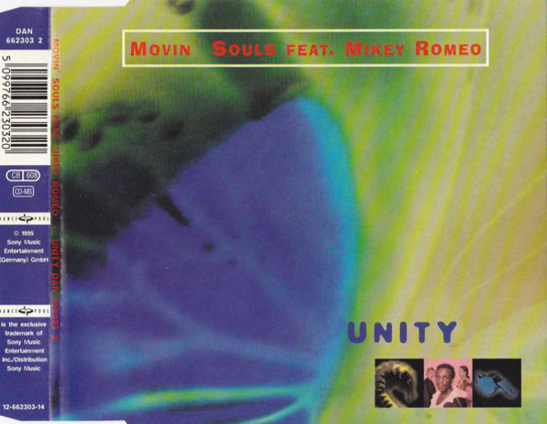 MOVIN' SOULS FEAT. MIKEY ROMEO - Unity - CD single