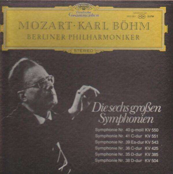 #<Artist:0x00007f80ff59bf00> - Die sechs großen Symphonien  (Karl Böhm)