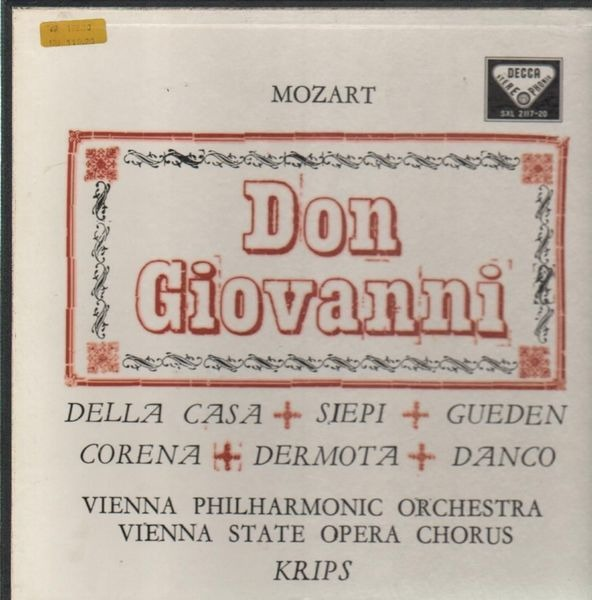 #<Artist:0x007f821d10c330> - Don Giovanni (Krips, Della Casa, Siepi, Gueden,..)