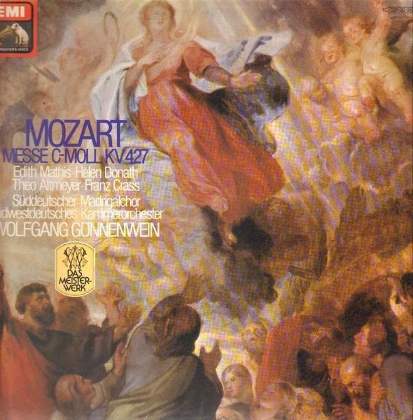 #<Artist:0x00007fcea5f62400> - Messe C-Moll KV 427 / W. Gönnenwein