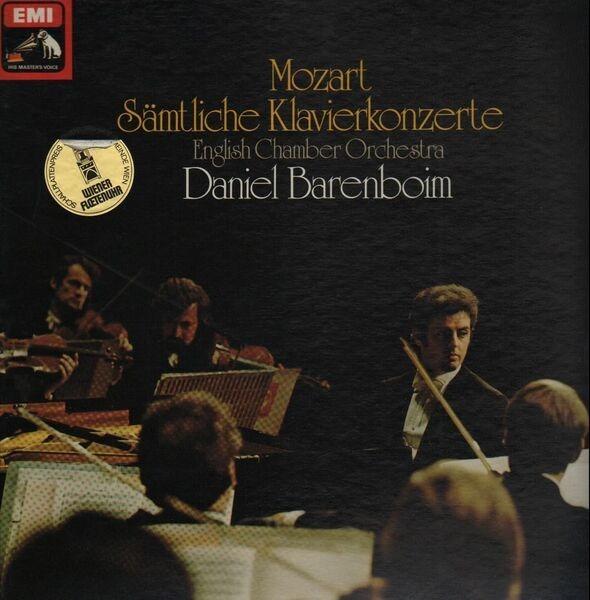 #<Artist:0x007fafd0fb7f70> - Sämtliche Klavierkonzerte; English Chamber Orchestra, Barenboim