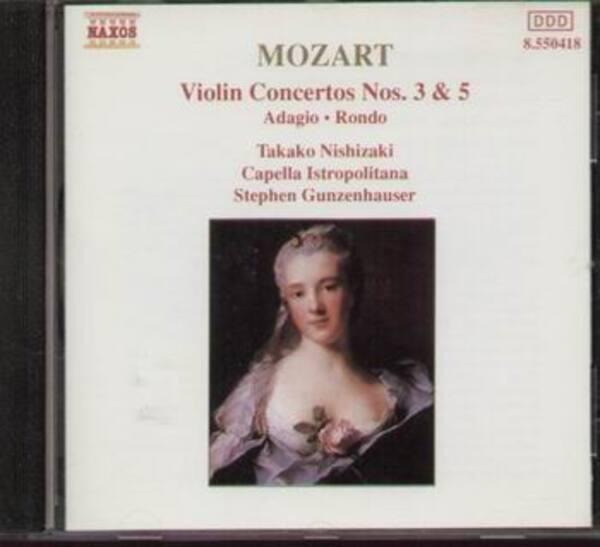 #<Artist:0x007efd1e7ba5f8> - Violin Concertos No. 3 & 5