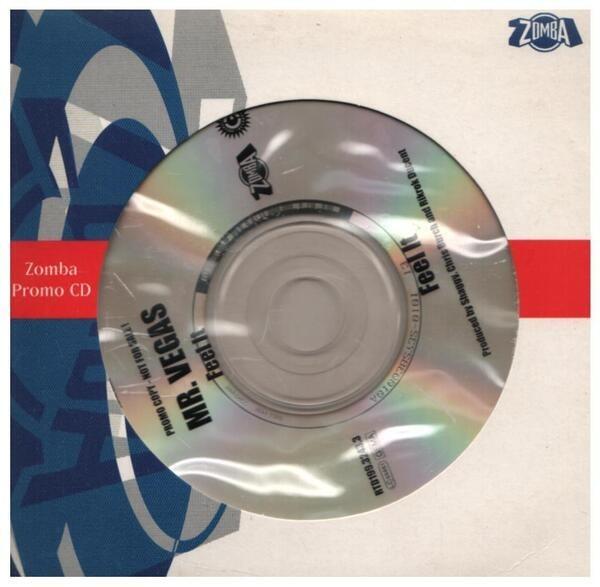 MR. VEGAS - Feel It (PROMO) - CD single