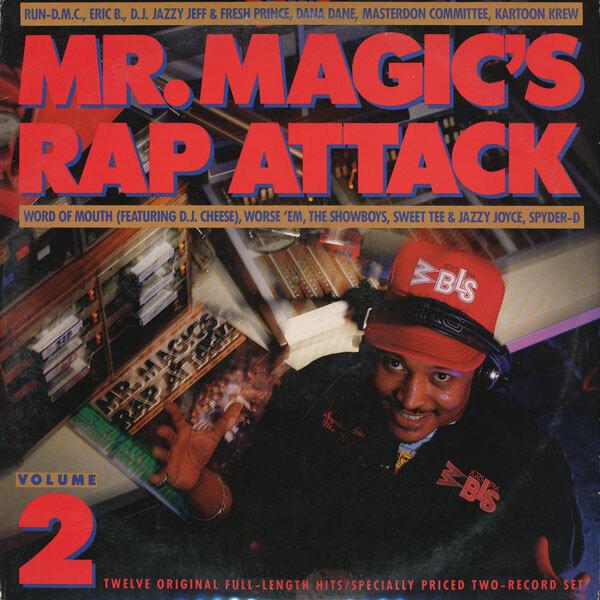 #<Artist:0x00007fd903946cc0> - Mr. Magic's Rap Attack Volume 2