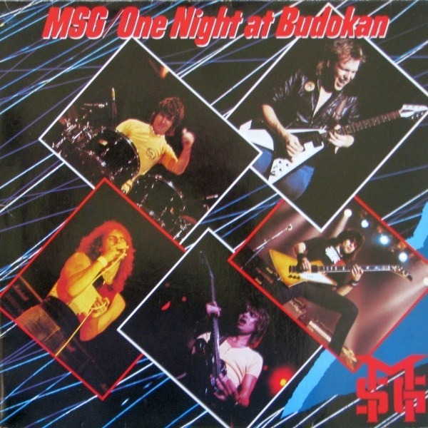 msg, the michael schenker group one night at budokan