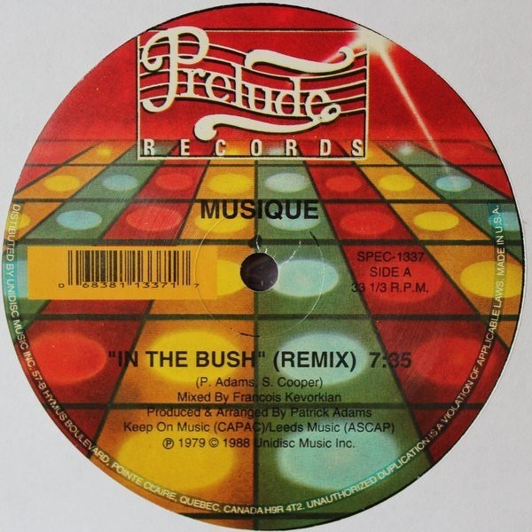 Musique In The Bush (Remix) / Keep On Jumpin' (Remix)