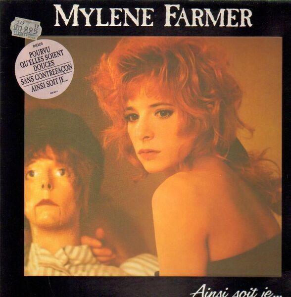 Mylène Farmer Ainsi Soit Je... (EMBOSSED LETTERS)