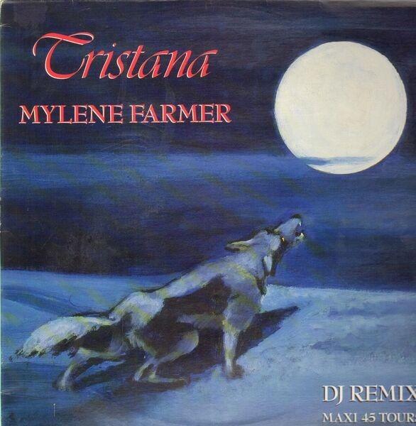 MYLÈNE FARMER - Tristana - Maxi x 1