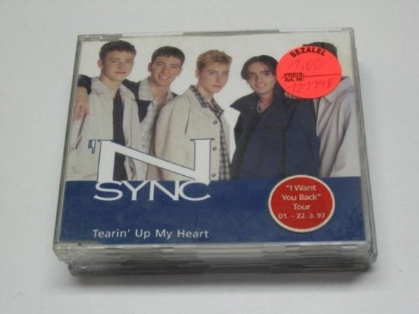 N SYNC - Tearin' Up My Heart - CD Maxi