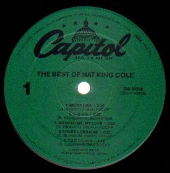 #<Artist:0x00007f651d3dbc40> - The Best Of Nat King Cole