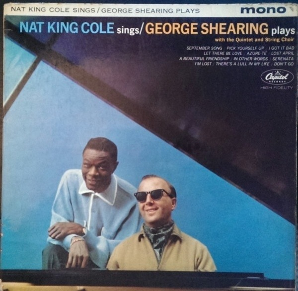 #<Artist:0x007fafb86e2610> - Nat King Cole Sings / George Shearing Plays