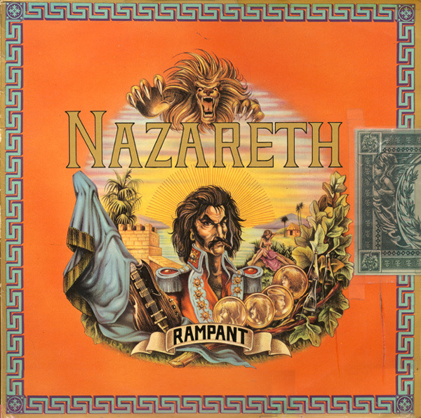 Rampant By Nazareth Lp With Rcleaner Ref 117355035
