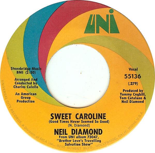 #<Artist:0x007f67084e3d30> - Sweet Caroline