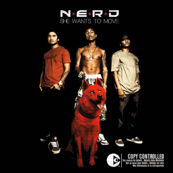 N*E*R*D - She Wants To Move - CD single