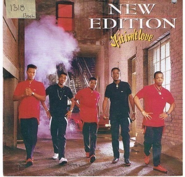 New edition-can you stand the rain (instrumental 45 transfer.