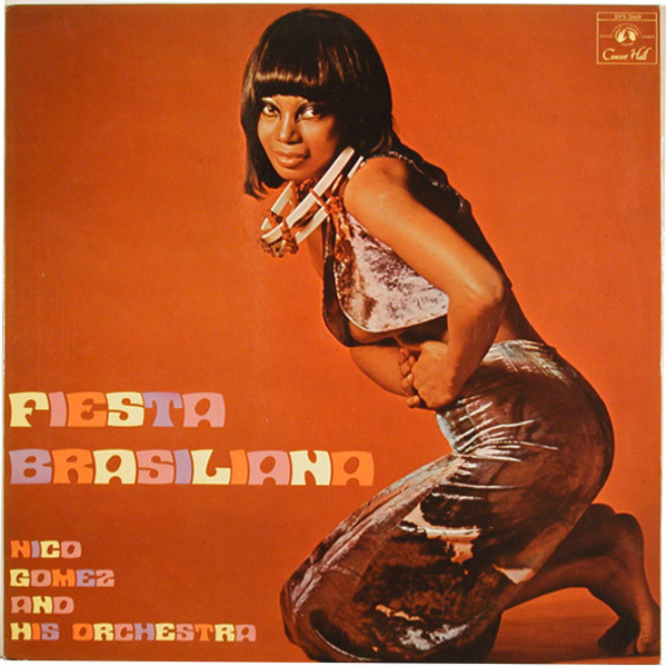 NICO GOMEZ AND HIS ORCHESTRA - Fiesta Brasiliana - 33T