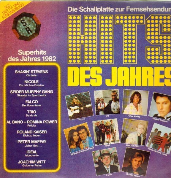 NICOLE / FALCO / TRIO / SPIDER MURPHY GANG A.O. - Hits Des Jahres 1982 - 33T