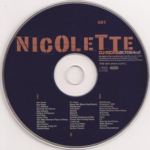 Nicolette DJ Kicks