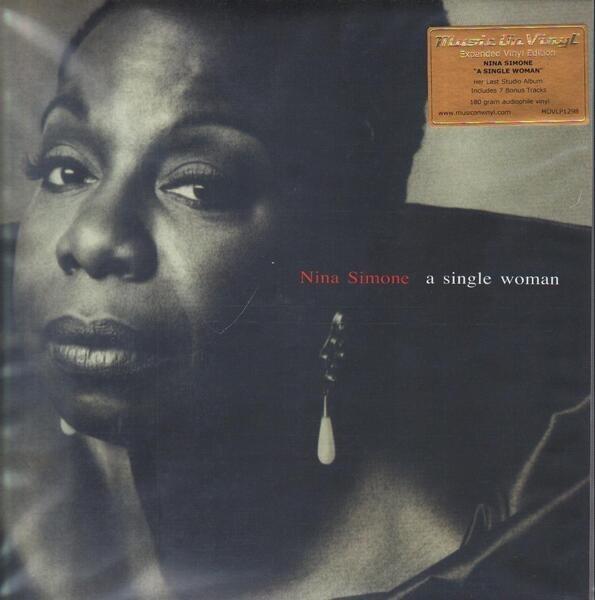 NINA SIMONE - A Single Woman (180G, AUDIOPHILE, BONUS TRACKS) - LP