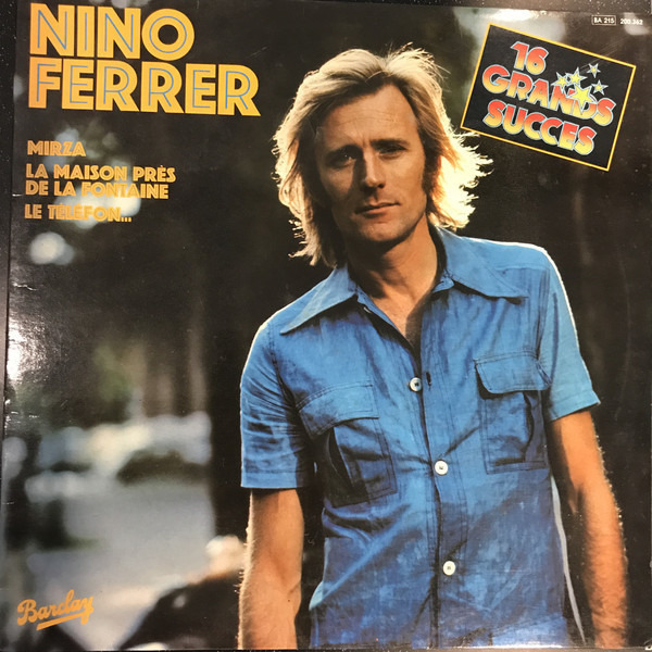 NINO FERRER - 16 Grands Succès - 33T
