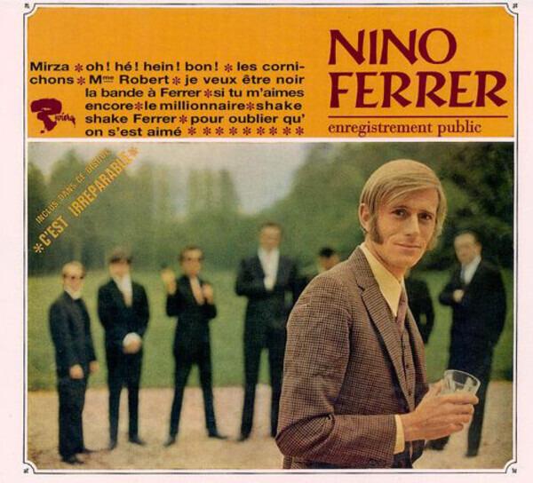 NINO FERRER - Enregistrement Public (DIGIPAK, STILL SEALED) - CD