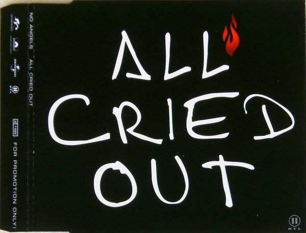 NO ANGELS - All Cried Out - CD single