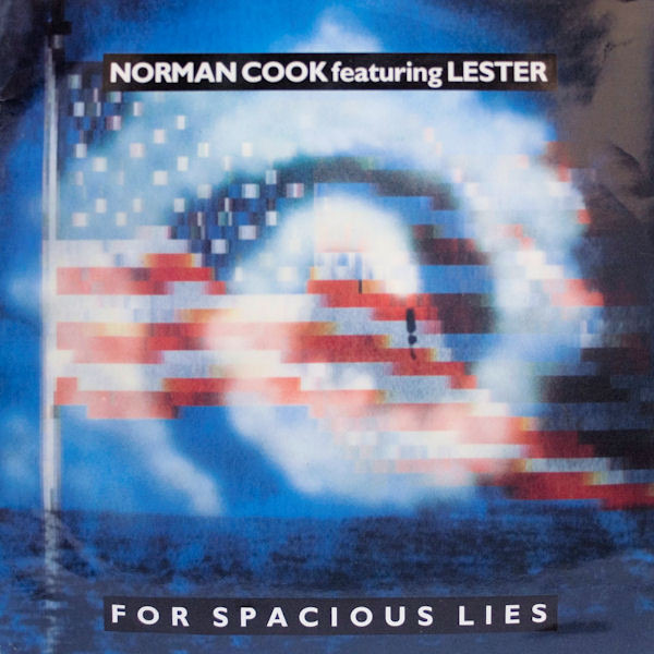 NORMAN COOK FEATURING LESTER NOEL - For Spacious Lies - Maxi x 1