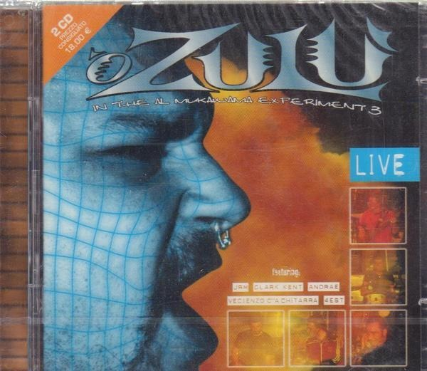 'O ZULÙ - 'O Zulù Live In The Al Mukawama Experiment 3 (LIVE) - CD x 2