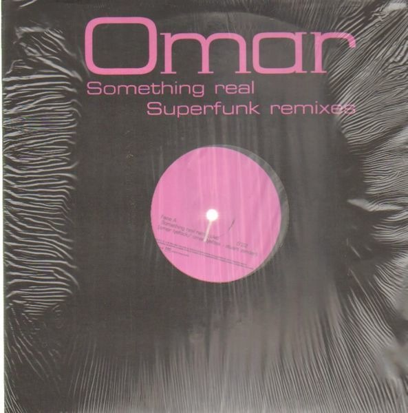 OMAR - Something Real - Superfunk Remixes - Maxi x 1