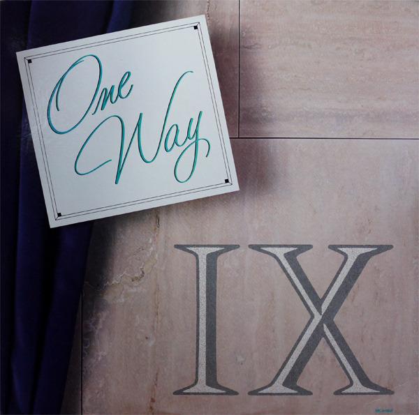#<Artist:0x007f41e1a477c8> - One Way IX