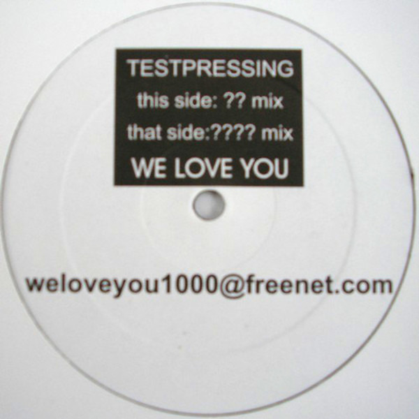 #<Artist:0x00007fce8c4c71d0> - We Love You
